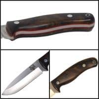Mk II TBS Timberwolf Camp Knife - Turkish Walnut